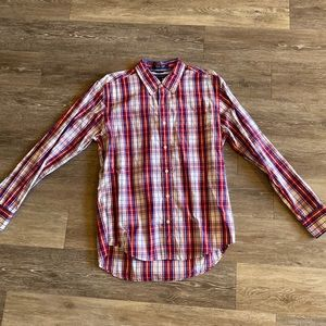 TOMMY HILFIGER Patterned Long Sleeved Button Down